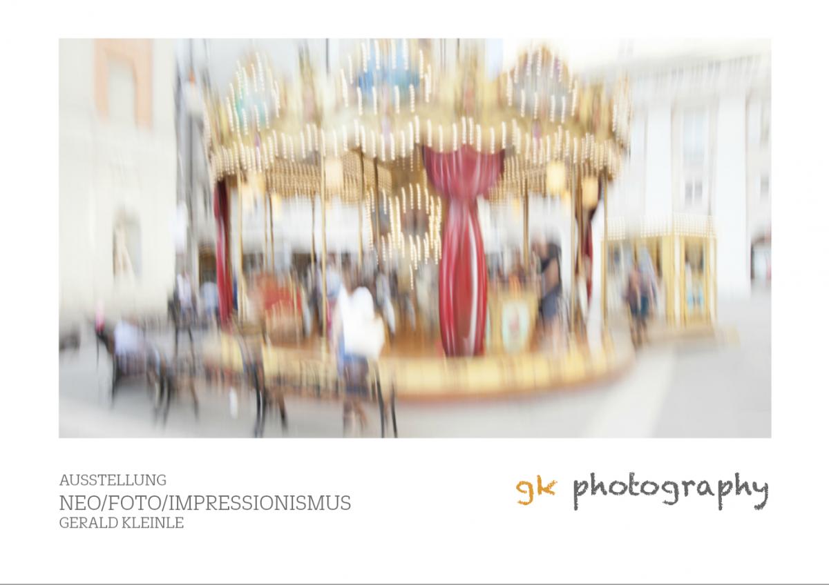 2018/07 Neo-Foto-Impressionismus – Geranienhaus Schloss Nymphenburg